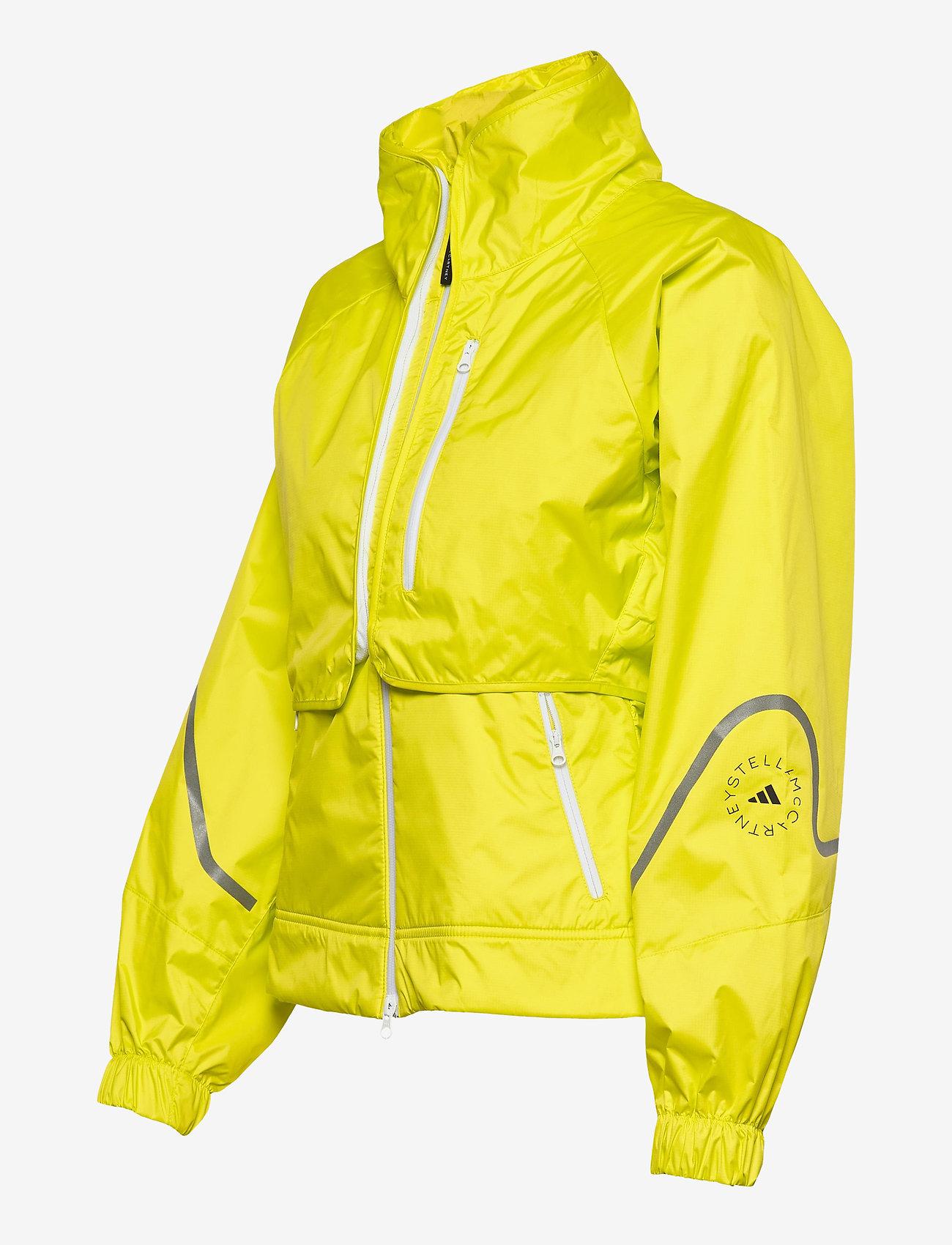 adidas by Stella McCartney - TruePace Two-In-One Jacket W - training jackets - aciyel - 3