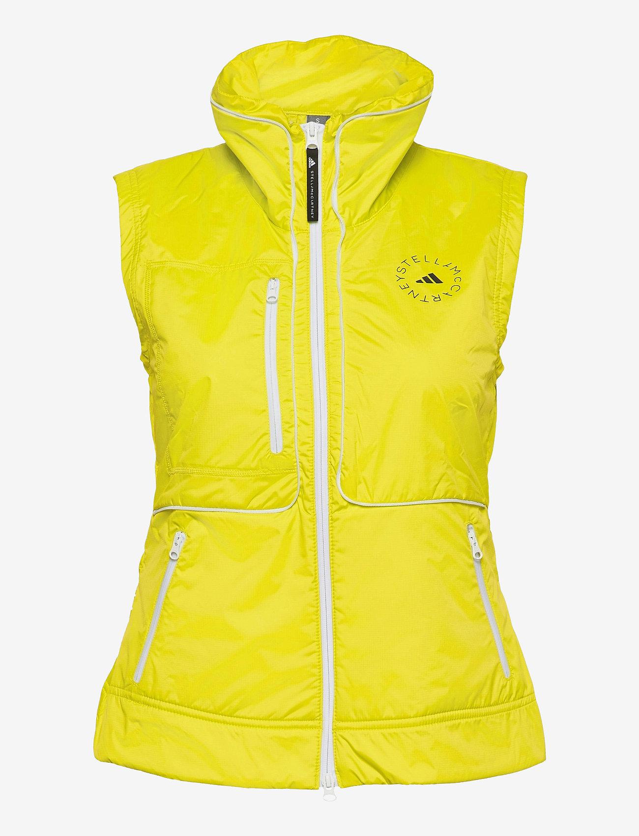 adidas by Stella McCartney - TruePace Two-In-One Jacket W - training jackets - aciyel - 4