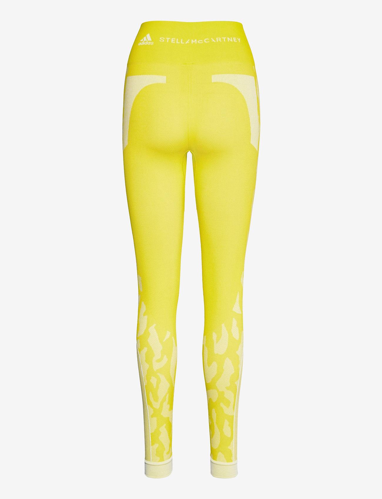 adidas by Stella McCartney - TruePurpose Seamless Tights W - löpnings- och träningstights - aciyel/white - 2