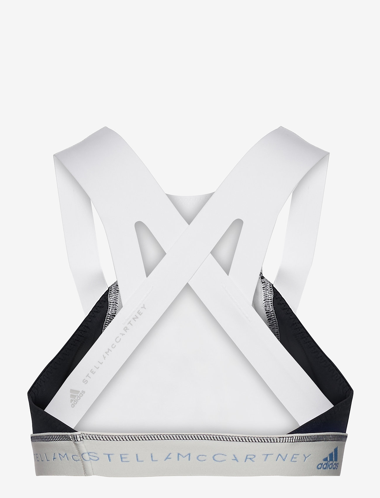 adidas by Stella McCartney - BeachDefender Bikini Top W - bikini tops - white/conavy - 1