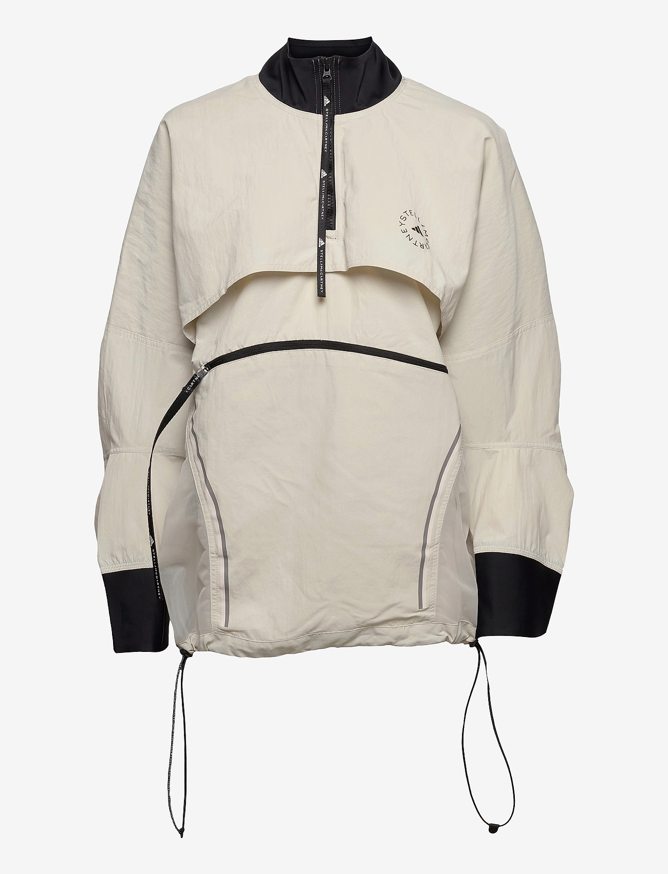 adidas by Stella McCartney - BeachDefender Run Swim Clean Cover-Up W - training jackets - talc - 1