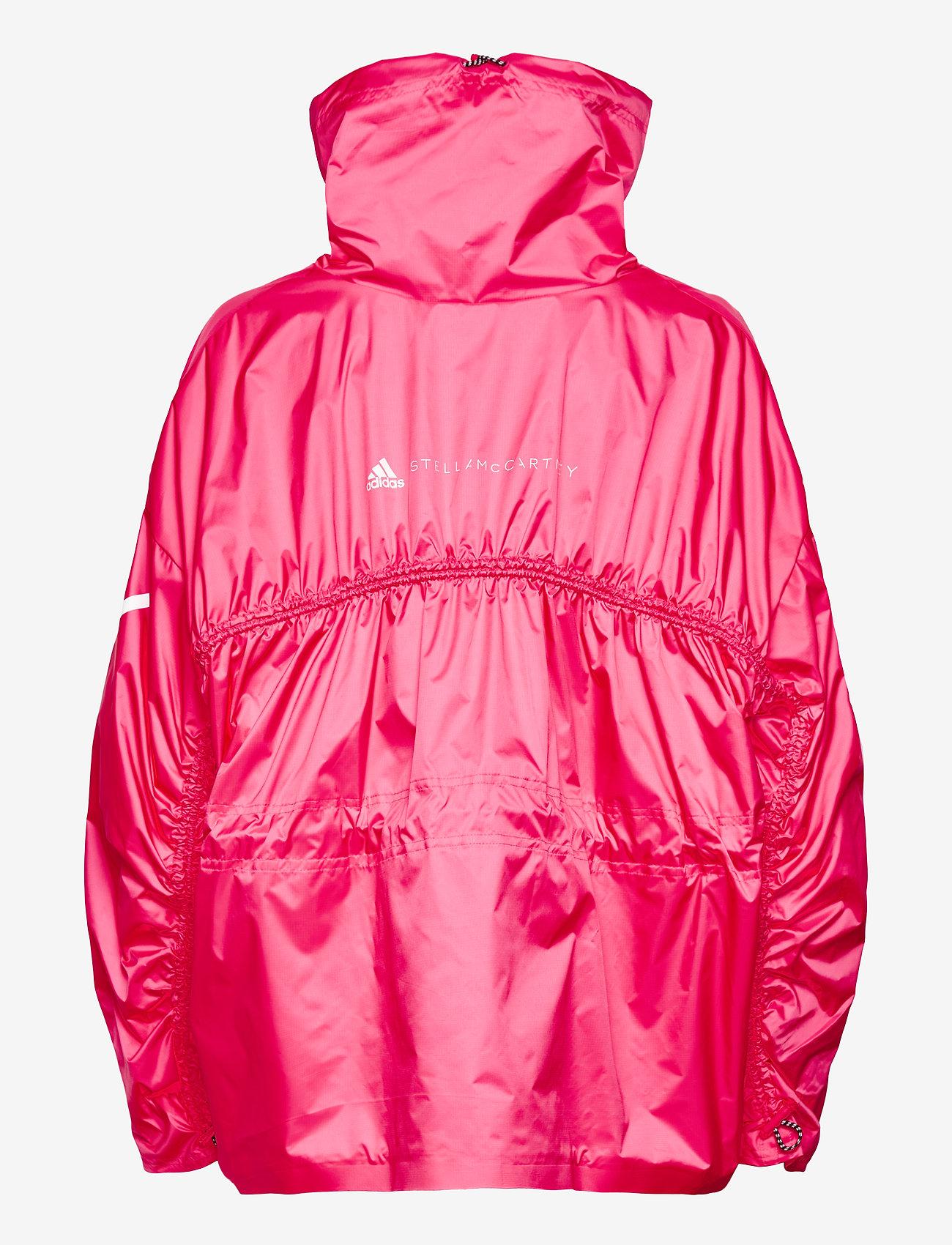 adidas by Stella McCartney - Half-Zip Mid-Length Jacket W - training jackets - sopink - 2