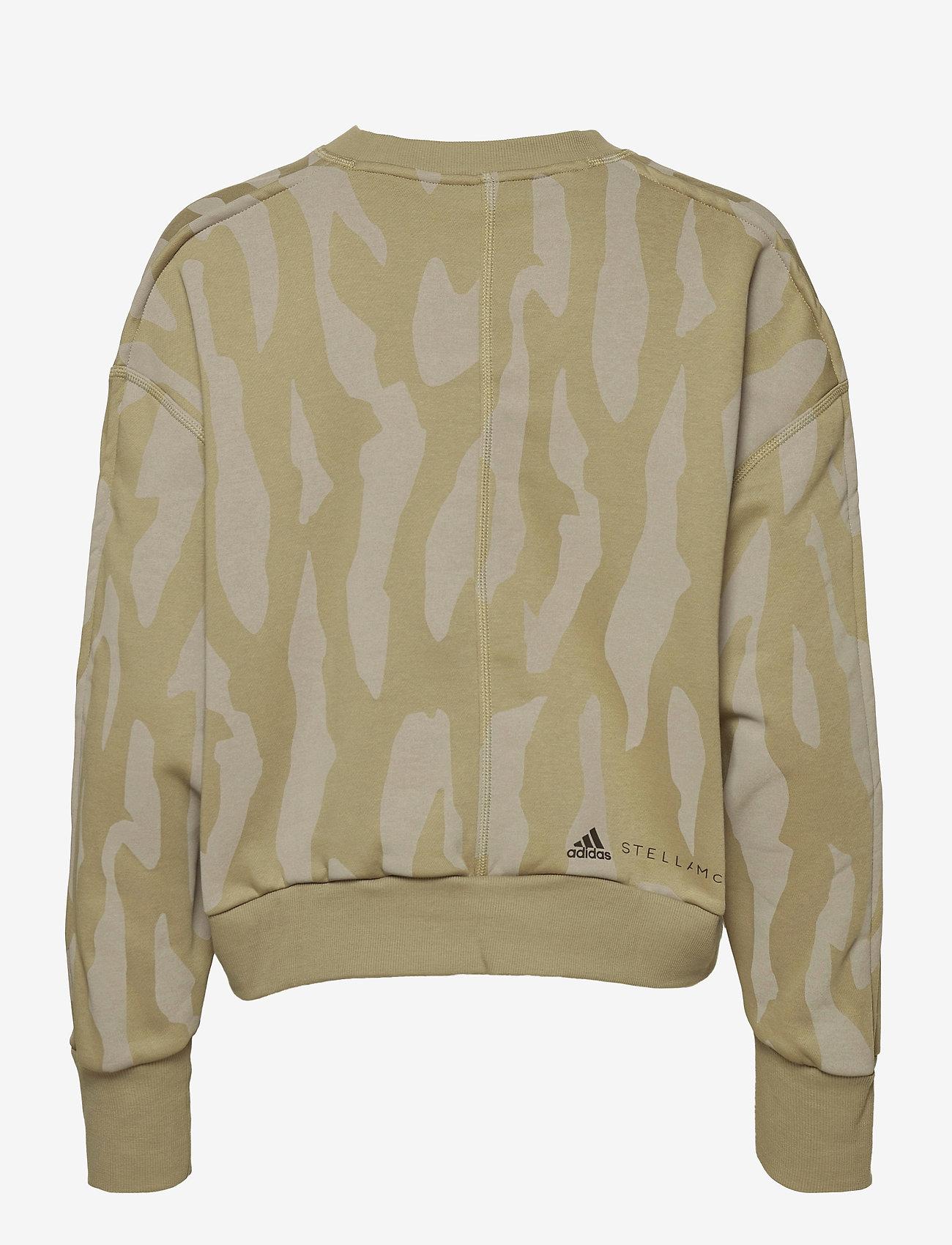 adidas by Stella McCartney - Sweatshirt W - sweatshirts & hoodies - clay/dovgry - 2