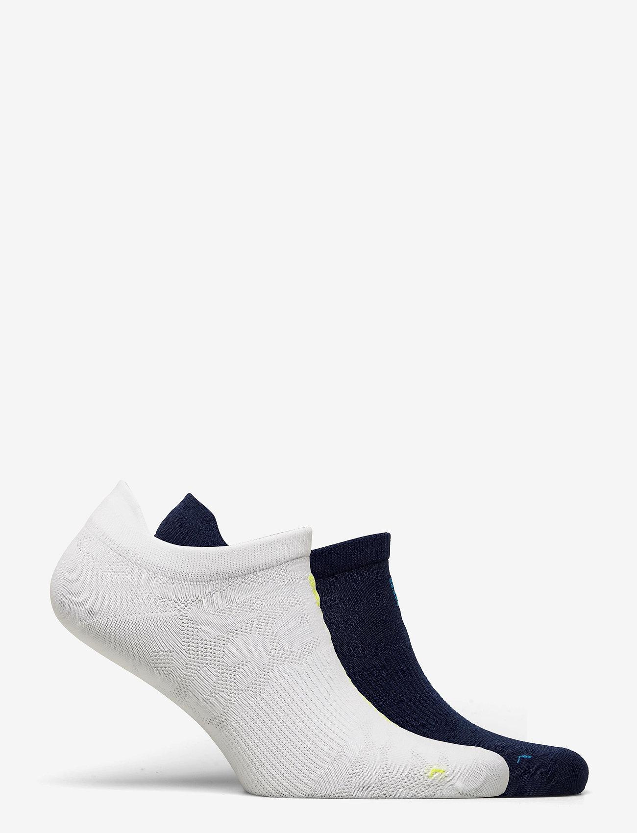 adidas by Stella McCartney - aSMC SOCKS - ankelstrumpor - white/aciyel/conavy/b - 1