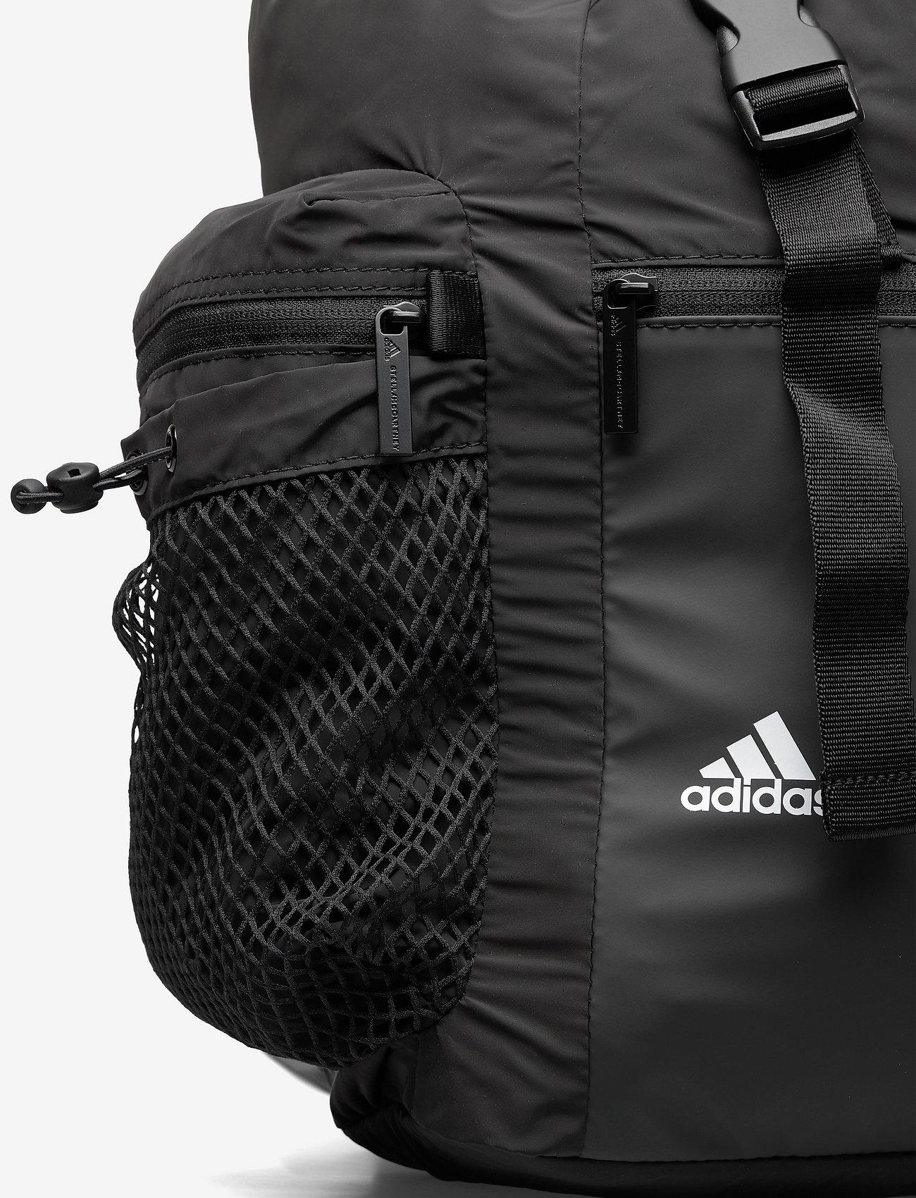 adidas by Stella McCartney - Backpack W - sport - black/black/white/whi - 3