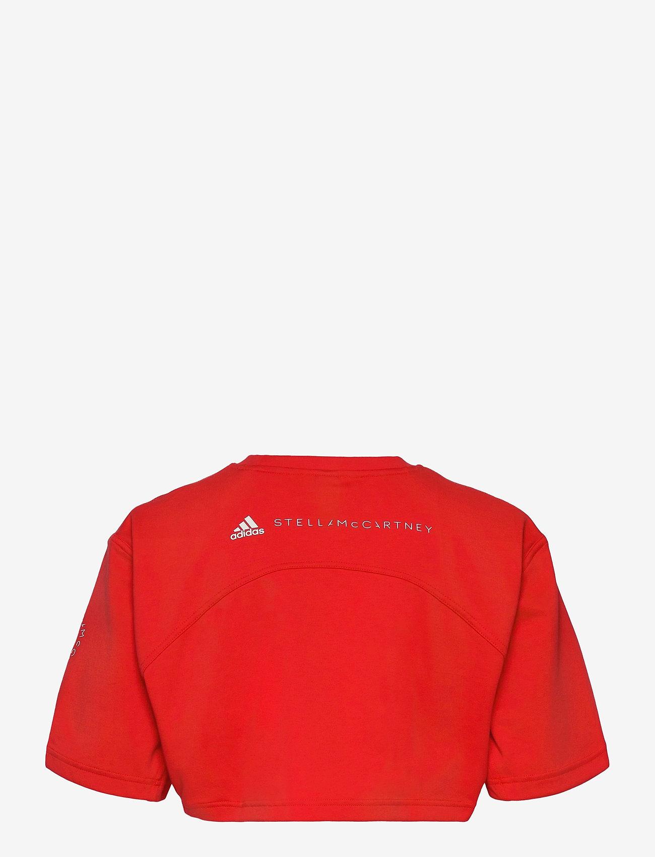 adidas by Stella McCartney - Future Playground Cropped T-Shirt W - tops & t-shirts - vivred - 2