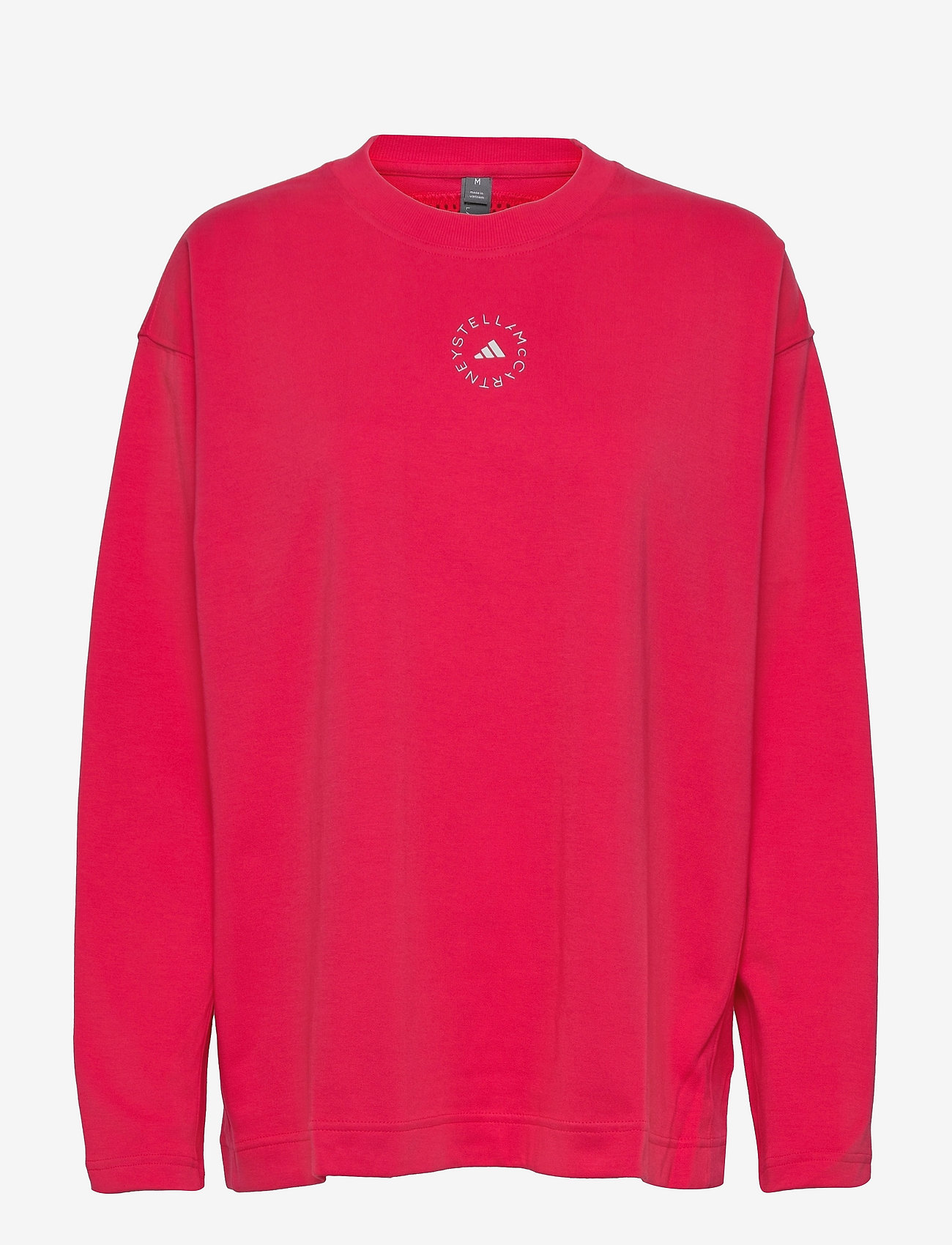 adidas by Stella McCartney - Cotton Long Sleeve Tee W - long-sleeved tops - actpnk - 0