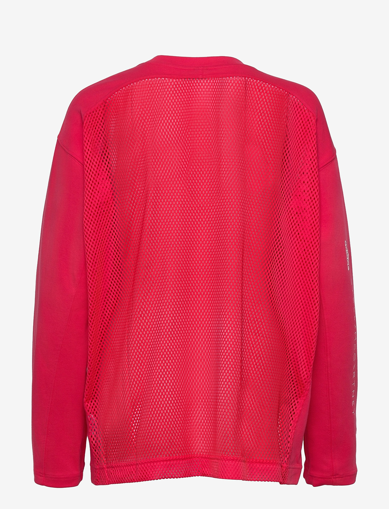 adidas by Stella McCartney - Cotton Long Sleeve Tee W - long-sleeved tops - actpnk - 1