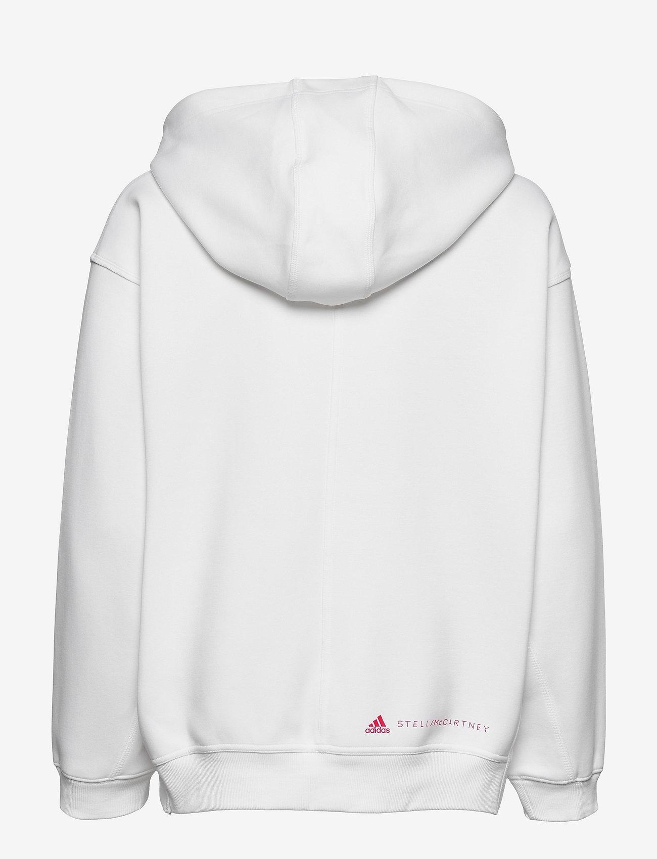 adidas by Stella McCartney - SC Full Zip Hoodie W - sweatshirts & hoodies - white - 1