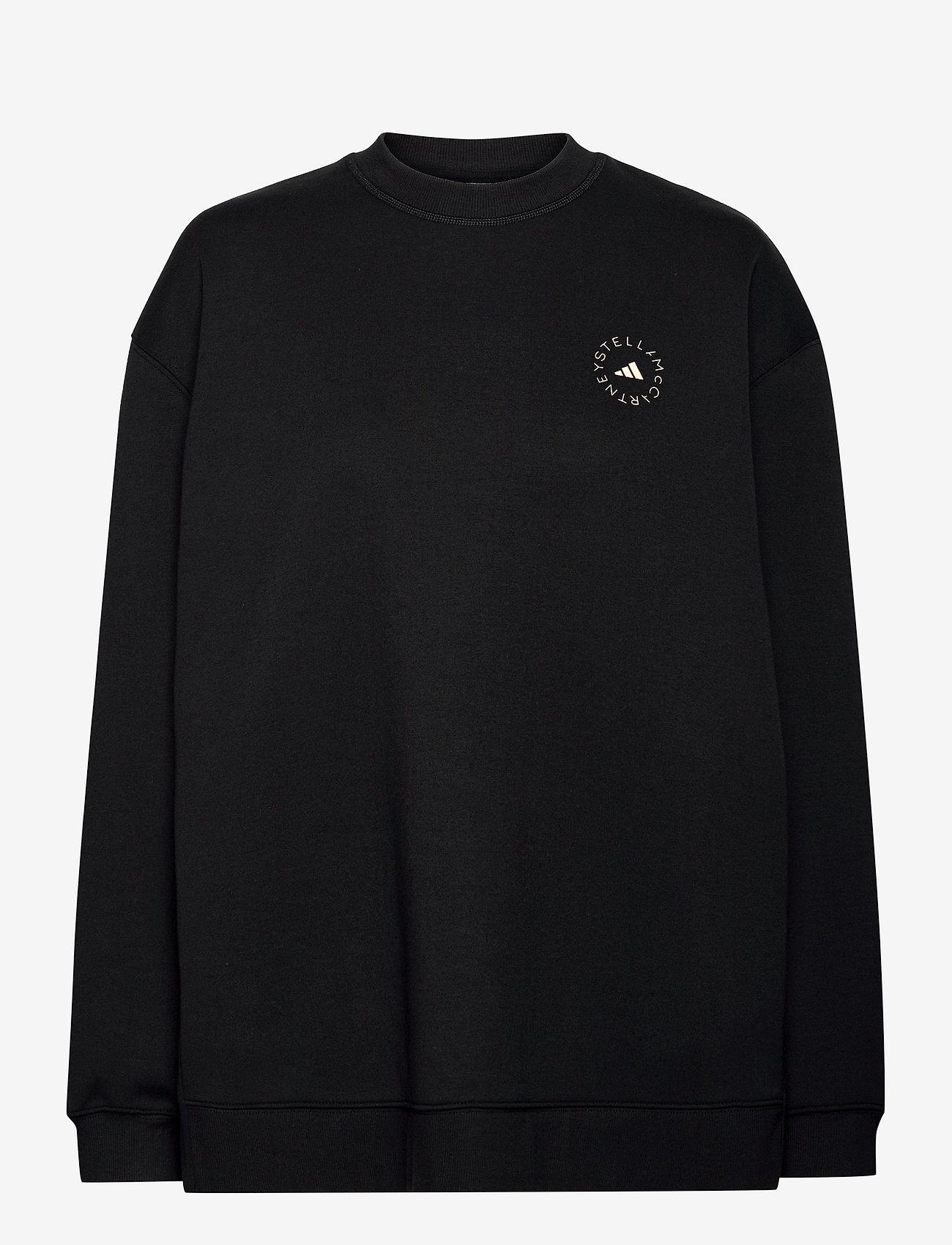 adidas by Stella McCartney - SC Sweatshirt W - sweatshirts & hoodies - black - 1