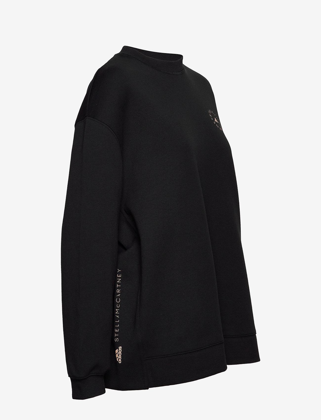adidas by Stella McCartney - SC Sweatshirt W - sweatshirts & hoodies - black - 3