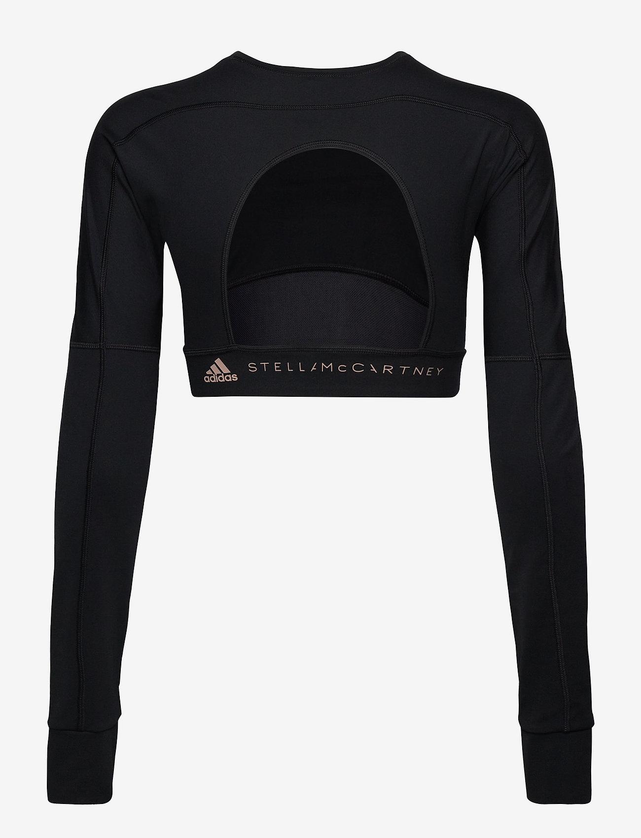 adidas by Stella McCartney - TrueStrength Yoga Crop Top W - crop tops - black - 2