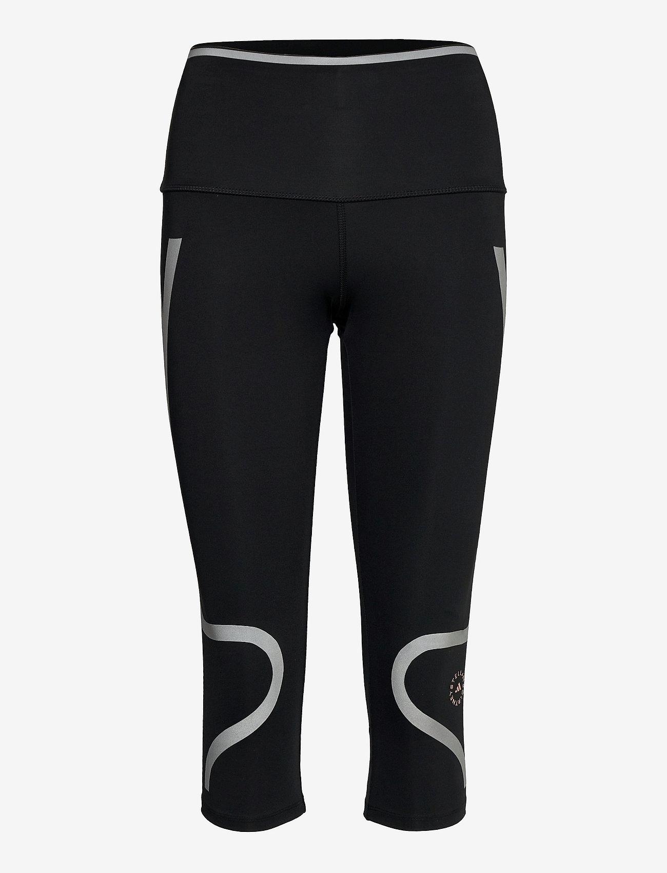 adidas by Stella McCartney - TruePace HEAT.RDY Mid Waist 3/4 Running Tights W - tights & shorts - black - 1