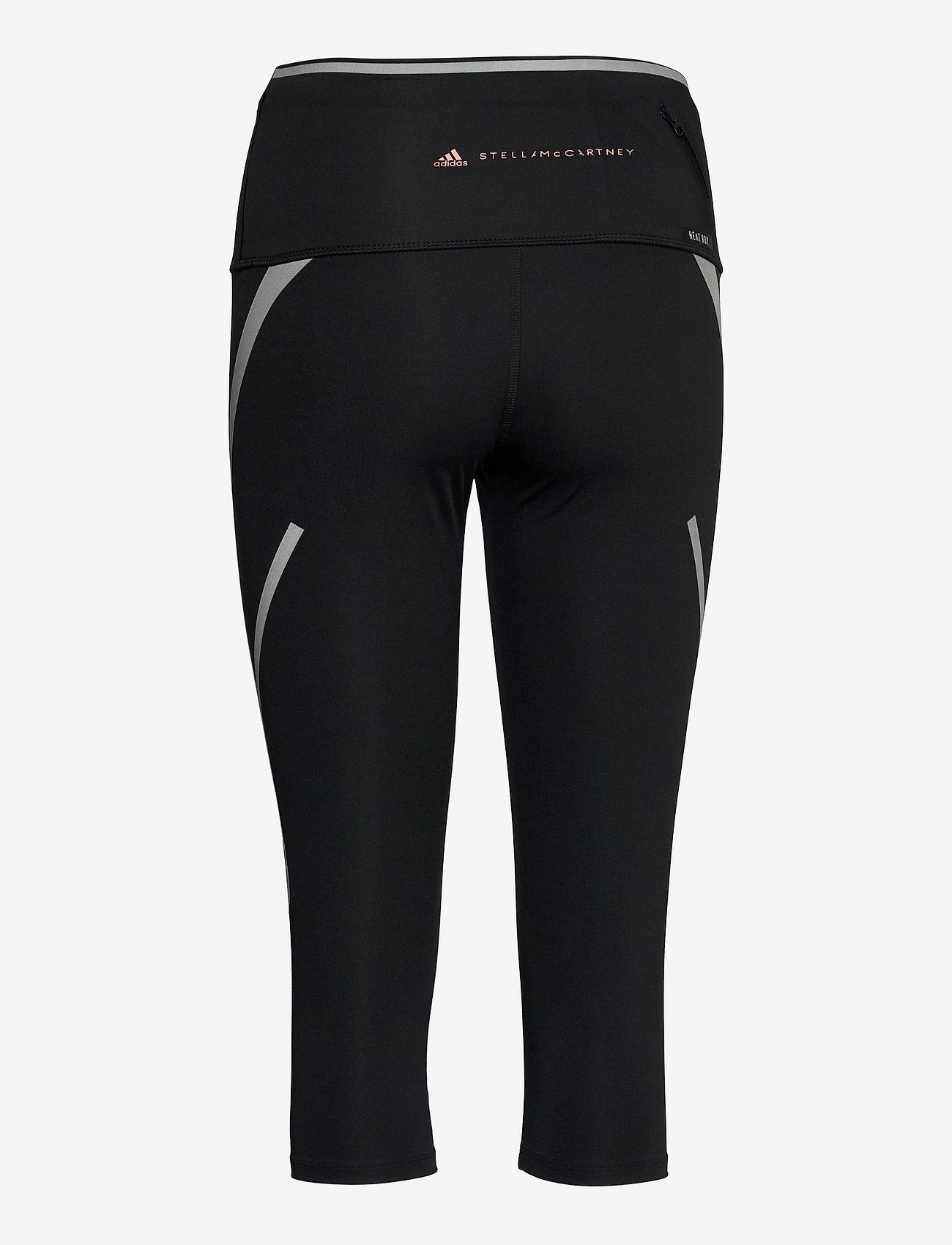 adidas by Stella McCartney - TruePace HEAT.RDY Mid Waist 3/4 Running Tights W - tights & shorts - black - 2