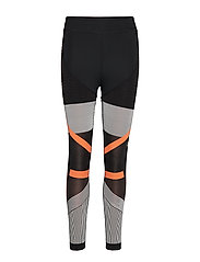adidas by Stella McCartney RUN PK TIGHT - BLACK/CWHITE/SESOOR