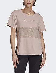 adidas by Stella McCartney - LOOSE TEE - t-shirty - icepnk - 0