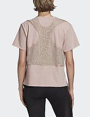 adidas by Stella McCartney - LOOSE TEE - t-shirty - icepnk - 3