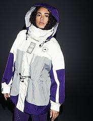 adidas by Stella McCartney - URBXTR SH JKT - vestes d'entraînement - refsil/clonix/cpurpl - 5