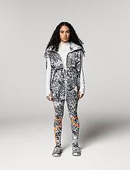 adidas by Stella McCartney - TRUEPACE GILET - toppaliivit - white/black/ash - 0