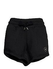 Sweat Fleece Shorts W - BLACK