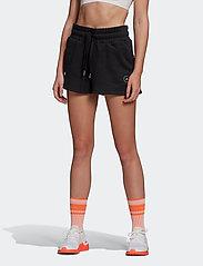 adidas by Stella McCartney - Sweat Fleece Shorts W - training shorts - black - 0