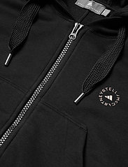 adidas by Stella McCartney - Full-Zip Cropped Hoodie W - collegepaidat ja hupparit - black - 5