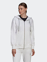 adidas by Stella McCartney - Sportswear Hooded Sweatshirt W - sweatshirts & hoodies - white - 0
