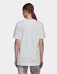 adidas by Stella McCartney - Cotton T-Shirt W - t-shirts - white/white - 3