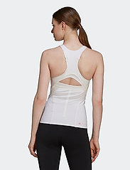 adidas by Stella McCartney - TruePurpose Tank Top W - sleeveless tops - white/white - 5