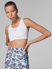 adidas by Stella McCartney - TruePurpose Medium Support Bra W - sport bras: medium - white/white - 0