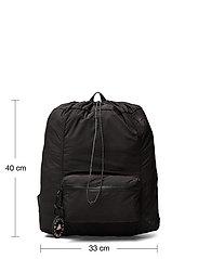 adidas by Stella McCartney - Gym Sack W - sport - black/black/sofpow - 4