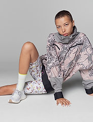 adidas by Stella McCartney - Future Playground Half-Zip Printed Jacket W - training jackets - pnktin/talc/pearos/bl - 0