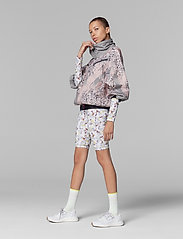 adidas by Stella McCartney - Future Playground Half-Zip Printed Jacket W - training jackets - pnktin/talc/pearos/bl - 6