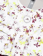 adidas by Stella McCartney - Future Playground Long Sleeve Crop Top W - navel shirts - clowhi/pnktin/aciyel/ - 5