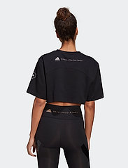 adidas by Stella McCartney - Future Playground Cropped T-Shirt W - toppe og t-shirts - black - 3