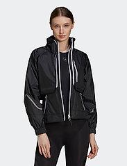 adidas by Stella McCartney - TruePace Two-In-One Jacket W - koulutustakit - black - 0