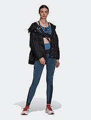 adidas by Stella McCartney - TruePurpose Seamless Bra W - sport bras: low support - stoblu/black - 4