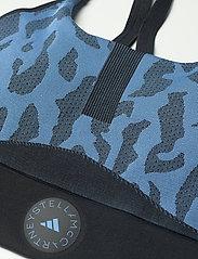 adidas by Stella McCartney - TruePurpose Seamless Bra W - sport bras: low support - stoblu/black - 5