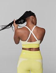 adidas by Stella McCartney - TruePurpose Seamless Bra W - sport bras: low - aciyel/white - 3