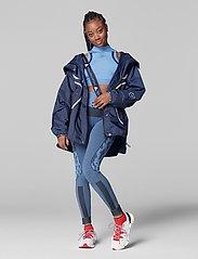 adidas by Stella McCartney - TruePurpose Seamless Tights W - running & training tights - stoblu/black - 4