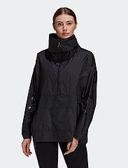 adidas by Stella McCartney - Half-Zip Mid-Length Jacket W - träningsjackor - black - 0
