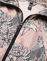 adidas by Stella McCartney - Long Lightweight Allover Print Parka W - parka coats - pnktin/talc/pearos/bl - 4