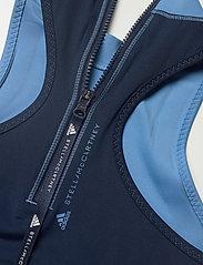 adidas by Stella McCartney - TruePace HEAT.RDY Primeblue Crop Top W - tops & t-shirts - stoblu/conavy - 6