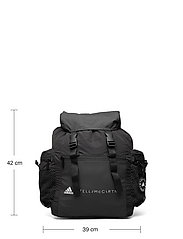 adidas by Stella McCartney - Backpack W - sport - black/black/white/whi - 5