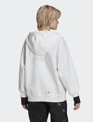 adidas by Stella McCartney - SC Full Zip Hoodie W - sweatshirts & hoodies - white - 2