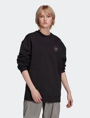 adidas by Stella McCartney - SC Sweatshirt W - sweatshirts & hoodies - black - 0