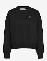 adidas by Stella McCartney - Sweatshirt W - sweatshirts & hoodies - black - 0