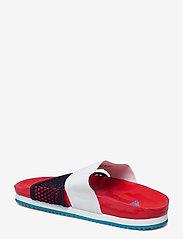 adidas by Stella McCartney - aSMC Lette - platta sandaler - vivred/conavy/stoblu - 2