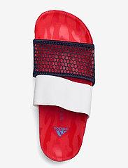 adidas by Stella McCartney - aSMC Lette - platta sandaler - vivred/conavy/stoblu - 3