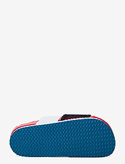 adidas by Stella McCartney - aSMC Lette - platta sandaler - vivred/conavy/stoblu - 4